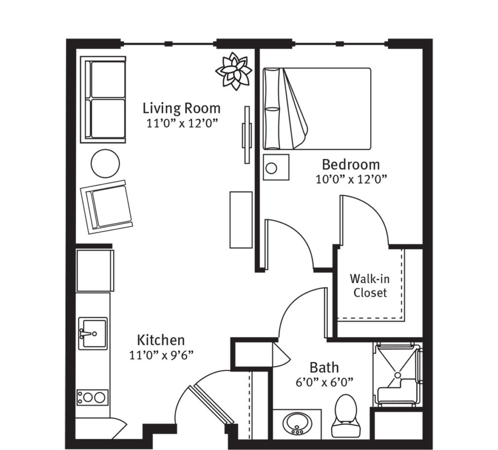 Egret Floorplan